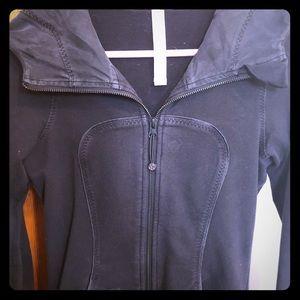 Lululemon hooded zip jacket size 2